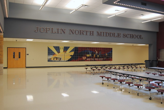 Joplin North Middle School Mural 01