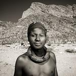 Himba man - Angola