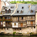 Traditional Riverside Houses In Espalion