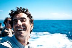 spensierato (diabbolo) Tags: sardegna blue smile vintage luca barca italia mare estate blu corsica places sorriso acqua vacanze 2010 traghetto ricciolo guglielmopaoletti