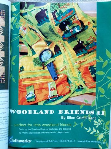 Woodland Explorer Vest Ad