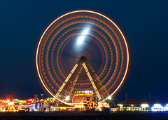 Blackpool 2010 Big Wheel at Night (James Butler Photography) Tags: wheel night pier big long exposure ferris blackpool 2010