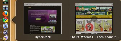 HyperDock screenshots