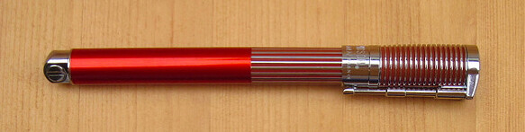 Waterman Harley-Davidson Horizon Orange Fountain Pen