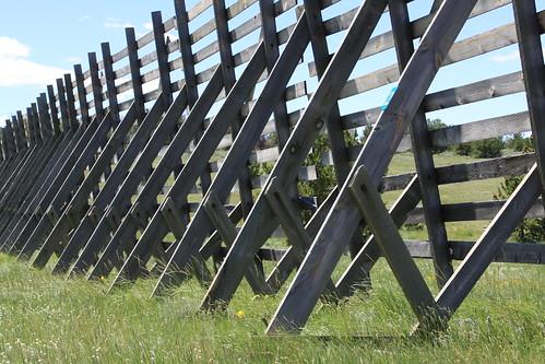 Snow fence, Curt Gowdy