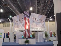 Sonic Innovations Large Custom Modular Tradeshow Stand (selco-stands) Tags: picture modular larger 15000