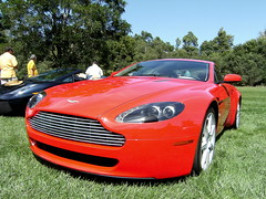 Aston Martin Vantage (Lambofan25) Tags: nebraska martin autoshow exotic finepix fujifilm omaha supercar carshow aston astonmartin vantage v8vantage astonmartinvantage f480
