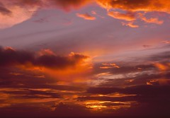 For a new day (Dora Joey) Tags: sunset red sky sun tramonto cielo tenerife sole rosso canarie