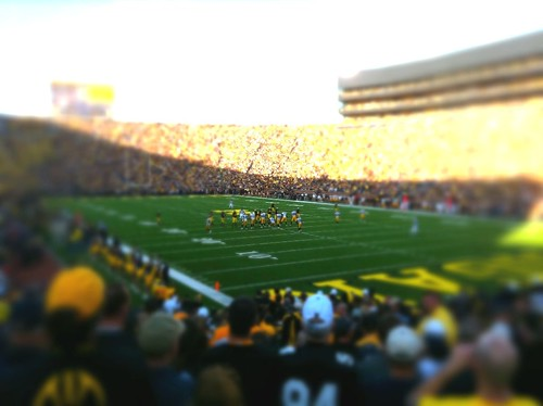 Oct.16.2010: Michigan vs Iowa