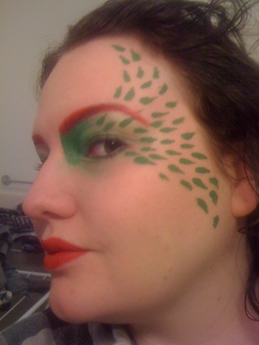 poison ivy costume makeup. poison ivy costume makeup. for