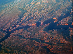 Grand canyon / 31,000 feet below () Tags: statepark park parque red vacation orange brown holiday window yellow plane airplane fly inflight nationalpark md flickr desert earth aircraft altitude grandcanyon flight jet canyon aerial crack planet praa windowview boeing americanairlines parc rtw s80 aereo aa airliner vacanze avion roundtheworld amr globetrotter planetearth mcdonnelldouglas topography areo md80 31000 deepcanyon americanway statemonument insidetheplane worldtraveler  thirdrockfromthesun 31000feet ario interiorcabin cracksintheearth inthecabin