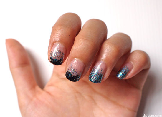 Nail Tutorial: Glitter Gradient