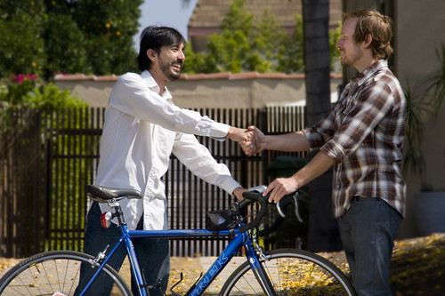 Sharing a bike on NeighborGoods.net