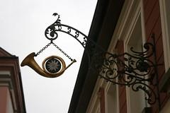 Passau, Bavaria, Germany (EJK41) Tags: germany deutschland bavaria allemagne passau niederbayern zunftzeichen lowerbavaria werbeschilder alamania cityofthreerivers dreiflussestadt