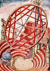 tycho's equatorial armillary (lemmy_caution) Tags: observatory scanned astronomy 16thcentury tychobrahe equatorialarmillary