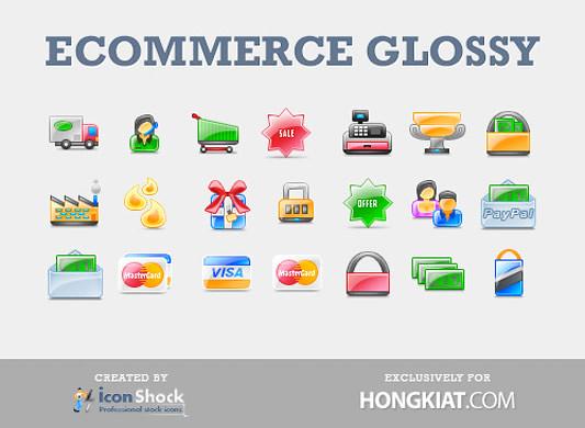 ecommerce  glossy