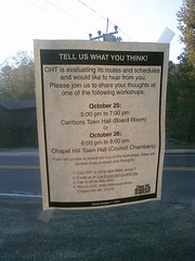 @chtransit seeking input on routes & schedules.