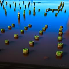 Old pier on Columbia River in Astoria , Oregon (janusz l) Tags: old longexposure oregon pier niceshot columbiariver nd astoria midday fader janusz leszczynski lightcraft 9stop 014614