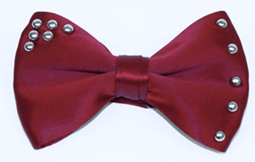 Robot and Brucling fashion leather bow tie 3