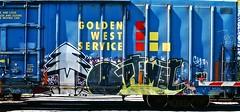 IMG_5217 (mightyquinninwky) Tags: railroad graffiti tag graf tracks railway tags tagged railcar rails boxcar graff graphiti freight trainart fr8 railart boxcarart freightart taggedboxcar paintedboxcar paintedrailcar taggedrailcar