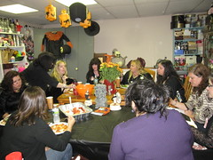 Witches Tea: Witches Eating!