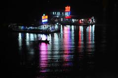 Ha Long Bay (joeychiu) Tags: reflection boat nikon nightlight 70200mm d300 evaair   joeychiu