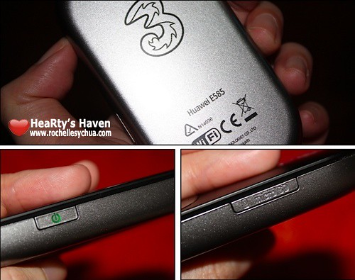 huawei e585 features