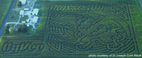 St Joseph Corn Maze