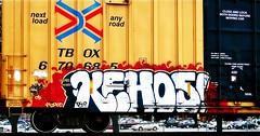 IMG_5984 (mightyquinninwky) Tags: railroad graffiti tag graf tracks railway tags tagged railcar rails boxcar graff graphiti freight trainart fr8 railart boxcarart freightart taggedboxcar paintedboxcar paintedrailcar taggedrailcar