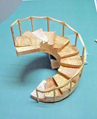 Paper Stair Prototype1 (Carlos N. Molina - Paper Art) Tags: paperart origami kirigami windowdisplay bookart tiffanys papercrafts papermodel papersculpture artandcrafts papersculptures paperarchitecture paperartist carlosnmolina papergenius