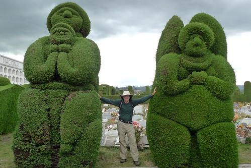 Topiary - Cemetario Tulcan - Tulcan, Ecuador
