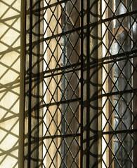 Lines and windows (shaggy359) Tags: windows shadow window lines wall diamonds grid shadows line diamond holy trinity porch network lead leading cambridgeshire holytrinity cambs meldreth