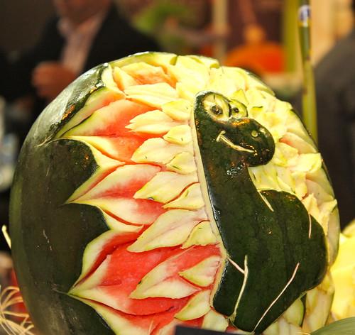 La talla de frutas