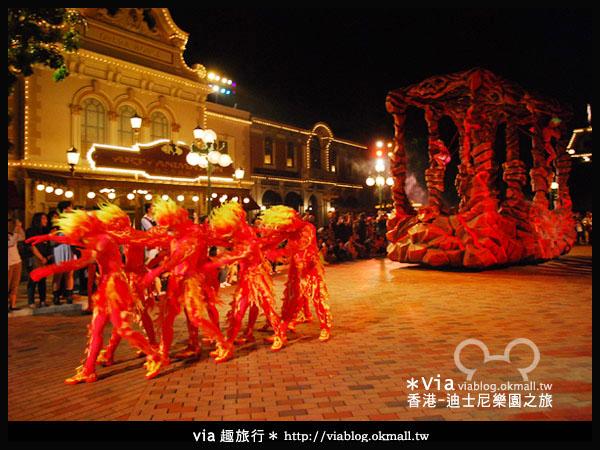 【香港旅遊】跟著via玩香港(2)~迪士尼萬聖節夜間遊行超精彩!16