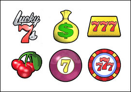 free Lucky 7s slot game symbols