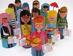 paper craft calendar for 2011 is here