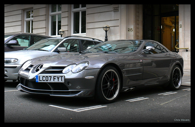 slr london mclaren mercedesbenz 722 chriswevers