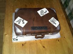suitcase cake (Suzanne's Bespoke Bakery) Tags: birthday cake cupcakes cookie dress luggage birthdaycake luau handbags birthdaycakes sugarpaste suitcasecake