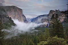 Iconic Yosemite (Marc Briggs) Tags: california storm clouds view sierra vision valley yosemite vista sierranevada yosemitevalley tunnelview wawonatunnel wawona highway41 discoveryview dsc0127b