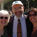 Paul Adalian with Family at Broome Library Groundbreaking