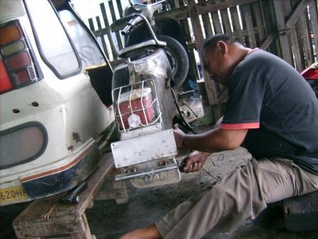 5150829876 432a1e8c92 Becak Ber Motor Kota Padangsidimpuan