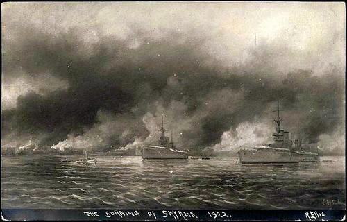 İzmir yanıyor, temsili resim