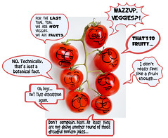 The Brotherhood of Tomatoes (RR) Tags: red vanessa food plant playing art kitchen fruits vegetables fruit tom ink matt fun cuisine funny with faces tomatoes humor cartoon creative vegetable vermelho fruta veggies veggie tomatos brotherhood tomate cozinha pomodoro vegetal rere anthropomorphic playingwithfood criativo playfood irmandade anthropomorph tomatera antropomrfico antropomorfico anthropomorphe boft dualib brincandocomacomidablog