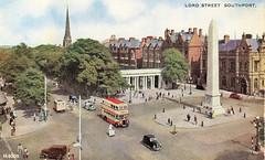Southport - Lord Street (tipsy1topsy1) Tags: 2005 old bus munich early postcard 1993 nostalgia nostalgic angelsinamerica 1956 southport pulitzer merseyside sefton kushner