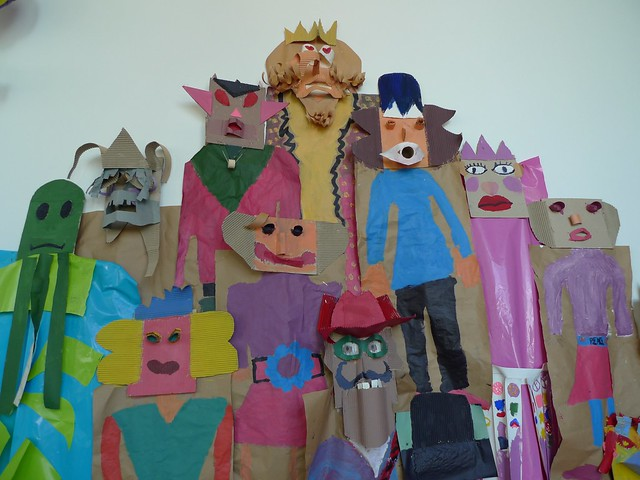 Characters at ICA