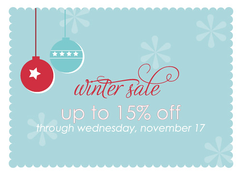Winter 2010 Sale