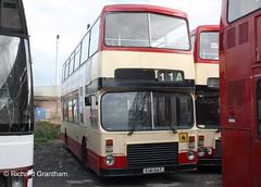 Brian Barnett Hull 141, E141SAT. (EYBusman) Tags: city bus brian yorkshire transport lancashire east kingston independent r type depot alexander hull fairway dennis rider copy rhodes stagecoach upon barnett lancs dominator wincolmlee khct eybusman e141sat