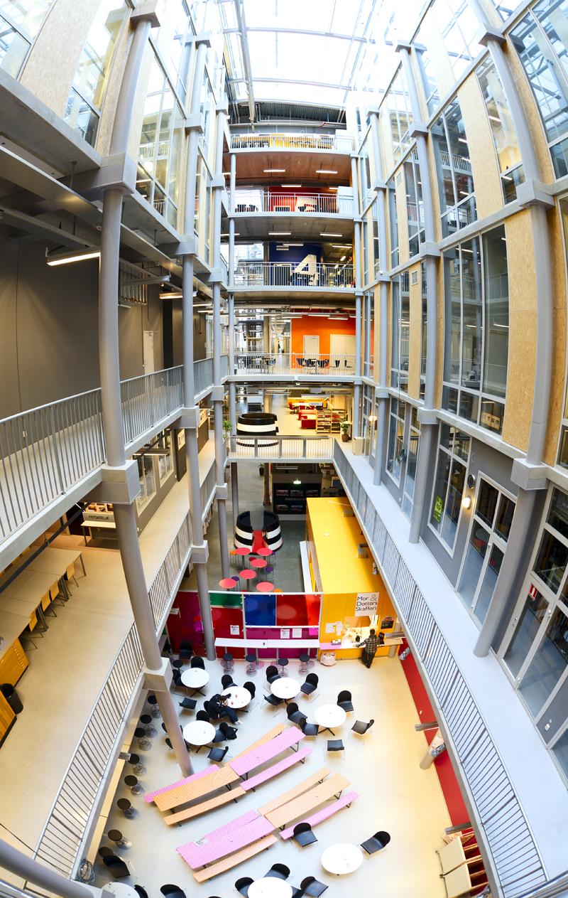 Ubåtshallen, Malmö Högskola