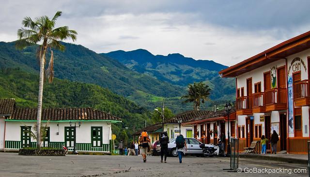 Salento pueblo in Colombia