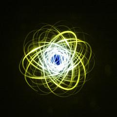 Physiogram 46 (Kanga Photography) Tags: light lightpainting spin radiance illumination swing ring led burst pendulum graham maglite spirograph elwire luminescent physiogram